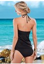 Back view Bold Necklace Tankini