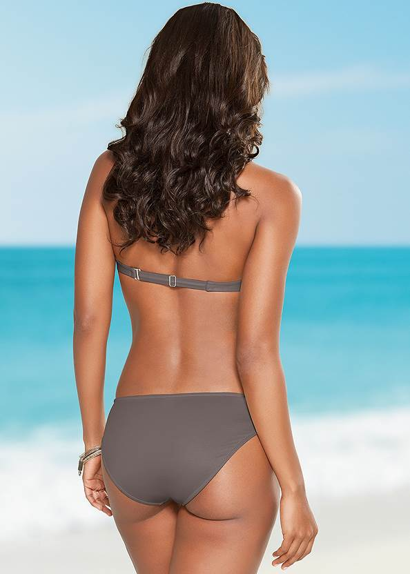 Back view Push Up Bra Top