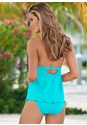 Back view Goddess Full Tankini