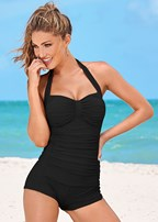 shorty one-piece