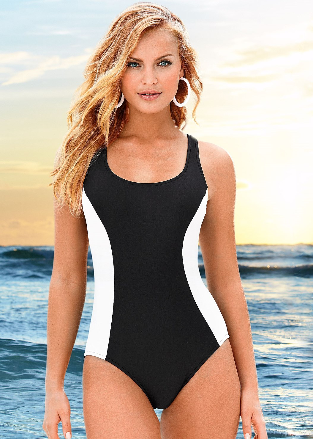 Venus Razor One-Piece,Summer Slip On Dress