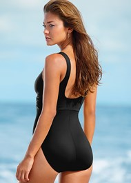 BACK VIEW Caress One-Piece