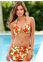 Front View Skirted Swim Bikini Bottom