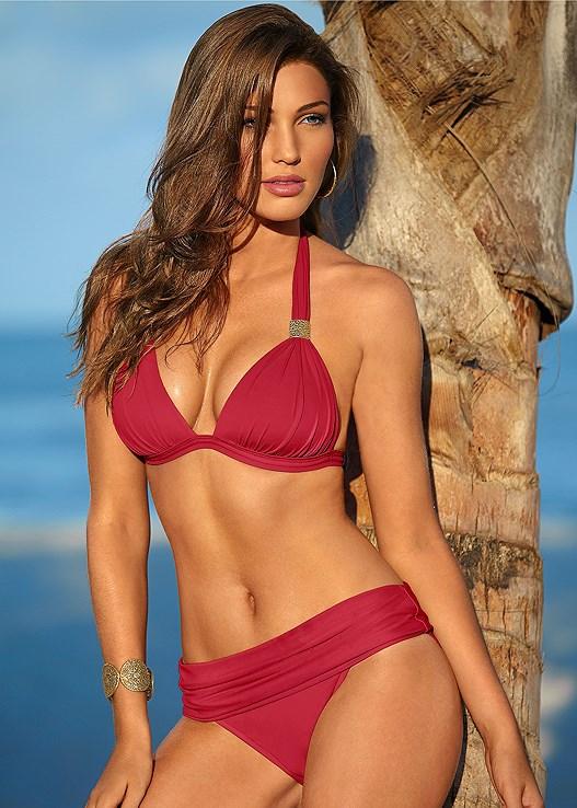5bcb12bb0b Red Hot GODDESS ENHANCER PUSH UP Bikini