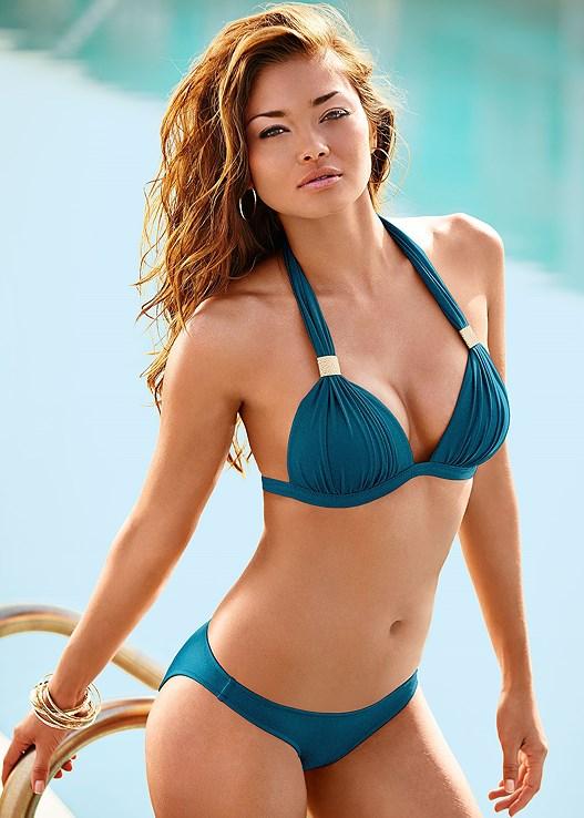 64762f9685a55 True Teal GODDESS ENHANCER PUSH UP Bikini