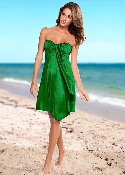 CONVERTIBLE DRESS/SKIRT,MARILYN PUSH UP BRA TOP,SCOOP FRONT BIKINI BOTTOM