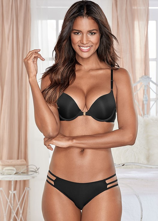234363c7817a6 Black KISSABLE STRAPPY PANTIES