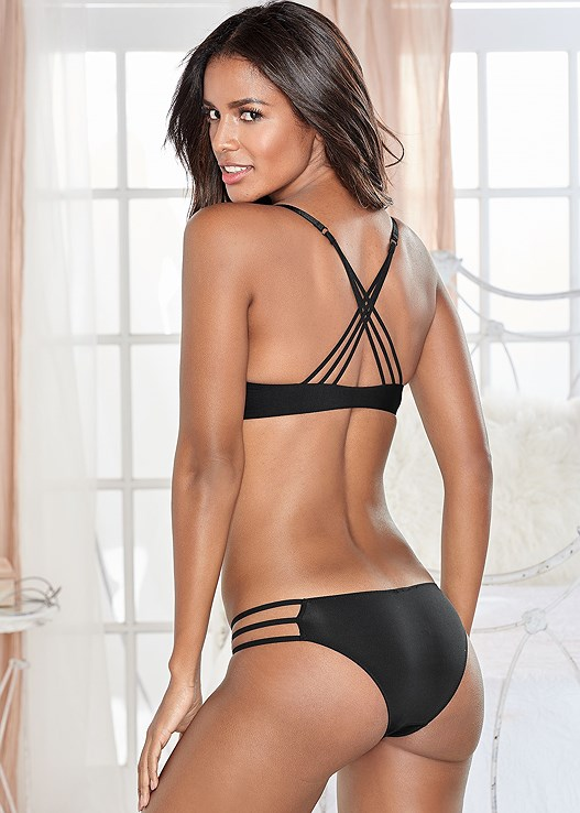 KISSABLE STRAPPY BACK BRA,KISSABLE STRAPPY PANTIES