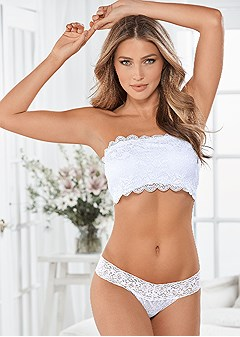 natural beauty lace bandeau