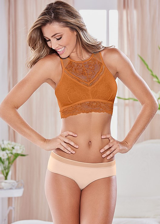 NATURAL BEAUTY BRALETTE,EVERYDAY YOU NO SHOW PANTY
