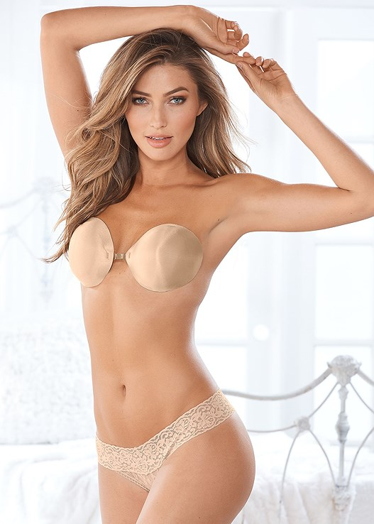CONFIDENCE INVISIBLE BRA,LACE THONG 3 FOR $19