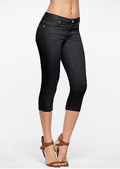 color capri jeans
