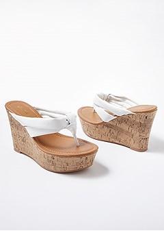 thong wedge sandal