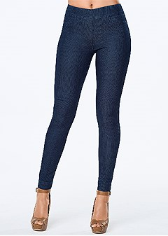 slimming stretch jeggings