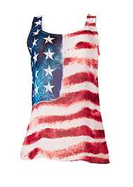 Alternate view American Flag Tank