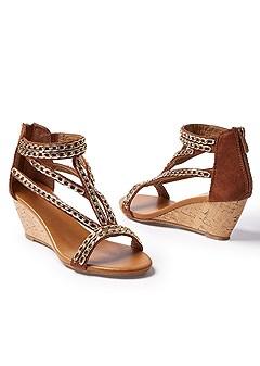 chain detail sandal