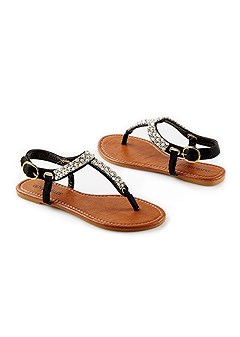 rhinestone sandal
