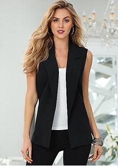 long suiting vest