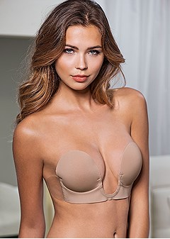 cupid backless u plunge bra