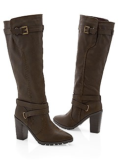 double strap boot