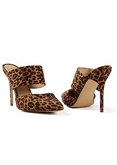 pointed toe slide heel