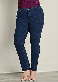 plus size bum lifter jeans