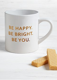 be happy coffee mug