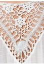 Back view Crochet Fringe Tunic