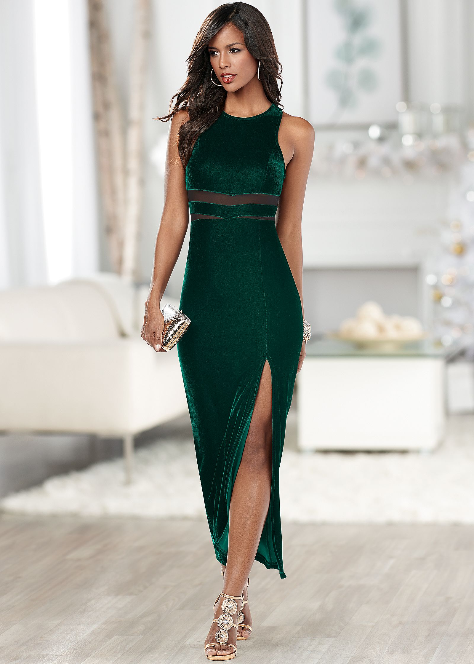 Glossaries style long dress