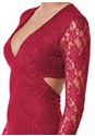 Alternate view Cut Out Lace Long Dress