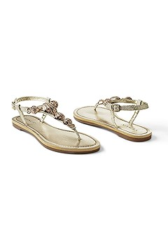 sea shell detail sandal