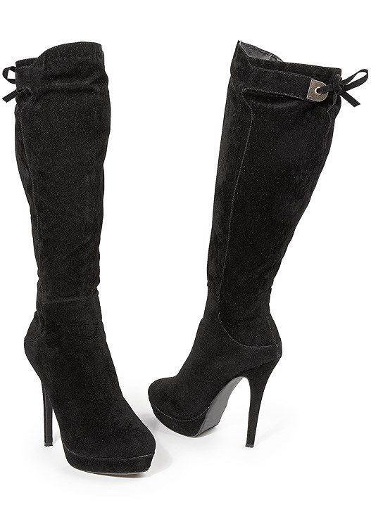 TIE BACK BOOTS