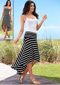 Convertible maxi dress/skirt
