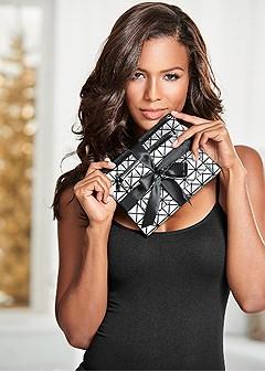 double set cosmetic bag