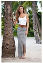 Alternate view Belted Maxi Skirt