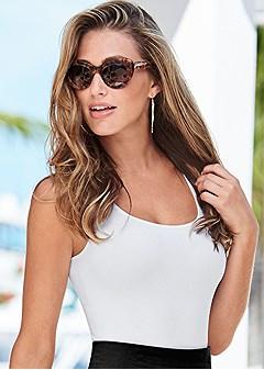 oversize cat eye sunglasses