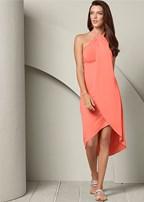 waterfall maxi dress