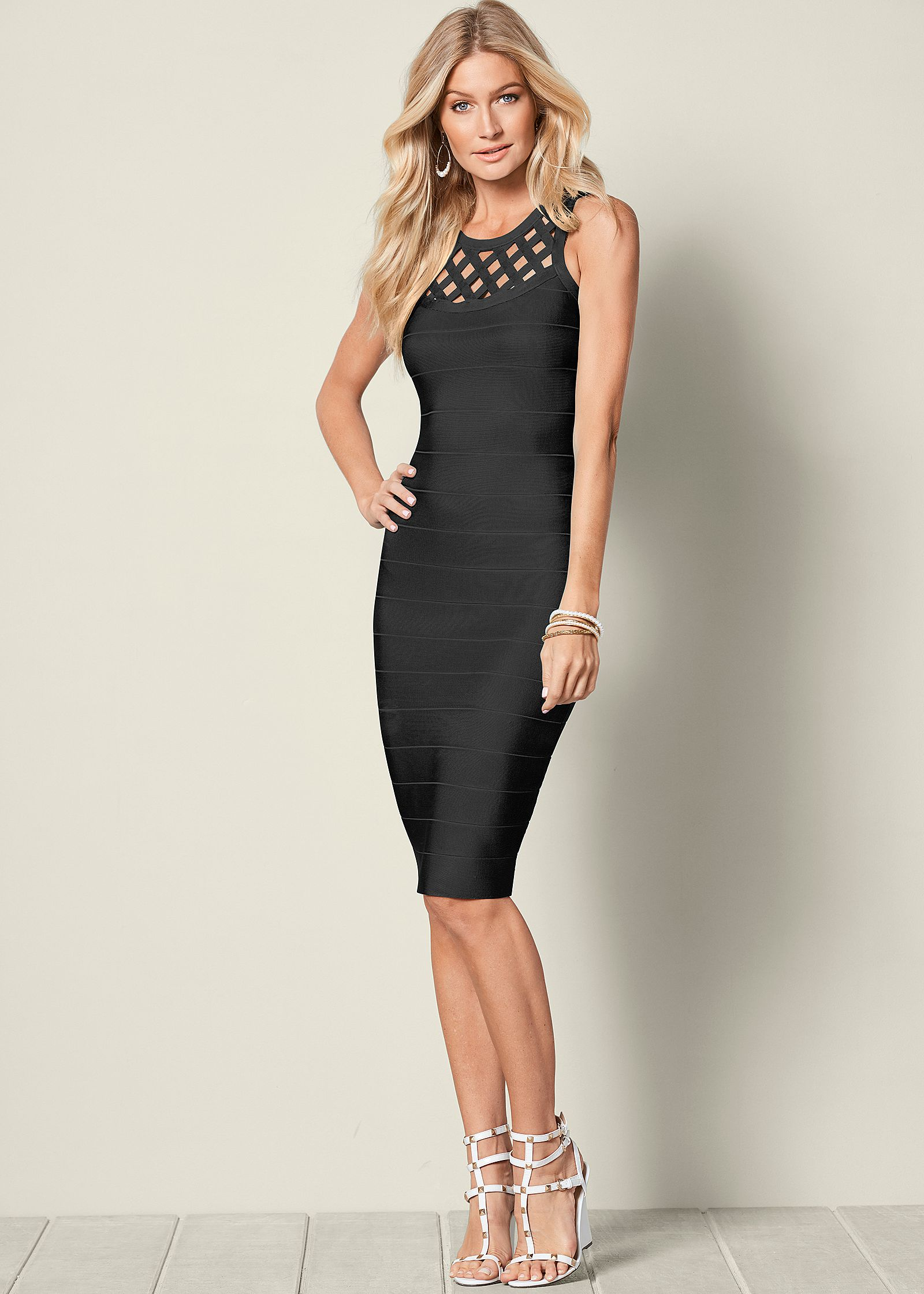 Black Wedges Dresses