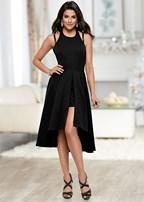 high low sparkle dress