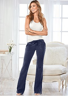 mineral wash lounge pant
