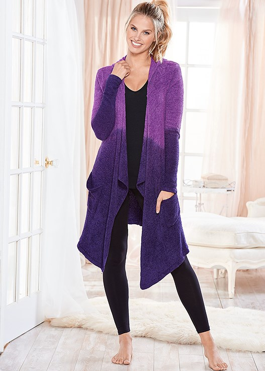 COZY OMBRE LOUNGE CARDIGAN