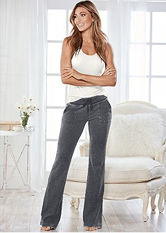 mineral wash lounge pants