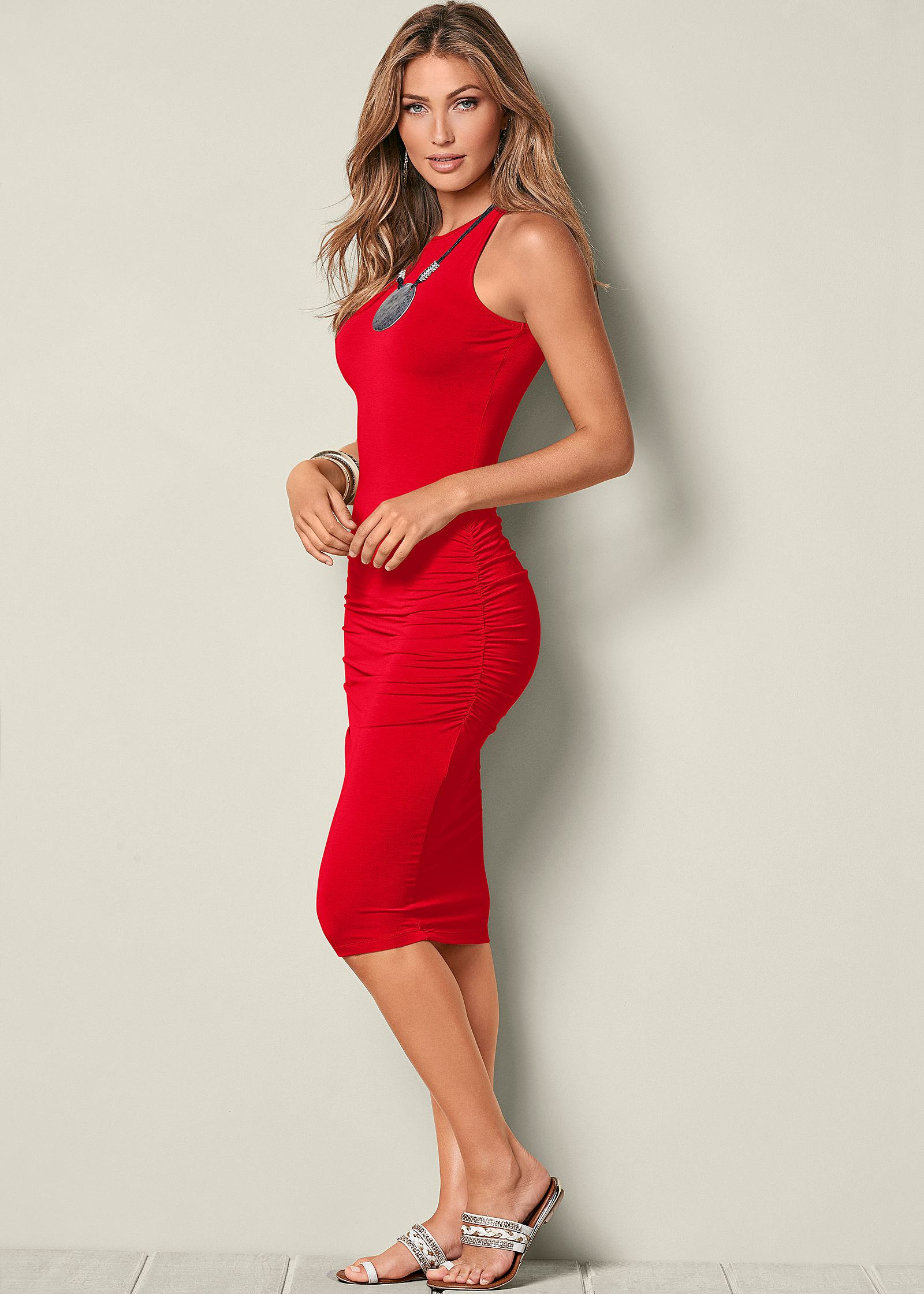 Cocktail dress with boots images