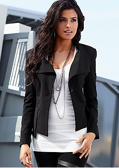 fish tail jacket