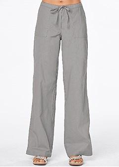 drawstring pants 30 inseam