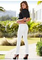 Back view Color Skinny Jeans